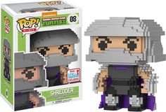 Funko Pop! 8-Bit Teenage Mutant Ninja Turtles Shredder