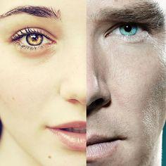 ¿#SabiásQue  los hombres tienen los #Ojos medio milímetro más grandes que los de la mujer? #ClínicaCeo #Health. Foto vía #Pinterest