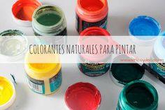 Verduras, frutas, té... Descubre algunos de los productos naturales que podemos elaborar para hacer tintes. ¡Podemos conseguir diferentes tonalidades!