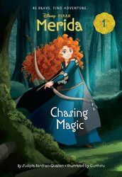 """Merida, the Princess of DunBroch, star of Disney /Pixar s """"Brave, """" and the independent young woman who inspired a generation of girls to take up archery and explore forests to look for magical will o"""