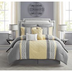 Shop for VCNY Farion Embroidered 8-piece Comforter Set. Get free shipping at Overstock.com - Your Online Fashion Bedding Outlet Store! Get 5% in rewards with Club O!