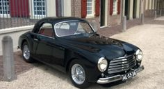 '50 Simca 8 Sport ... partially aluminum body. Never heard of this one either. Elegant little bugger.