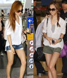 Yuri's Airport Fashion and Casual Style