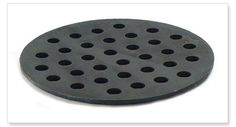 Big Green Egg Cast Iron Fire Grate for an XLarge EGG https://saffordsportinggoods.com/shop/grill-accessories/big-green-egg-cast-iron-fire-grate-for-an-xlarge-egg/