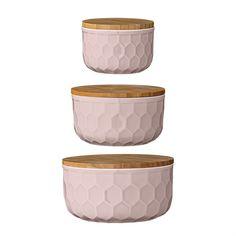 Adina Bowls, Bamboo and Nude (SET OF 3)