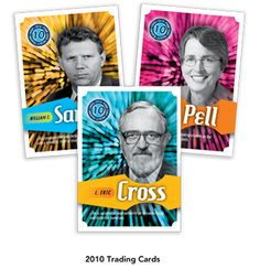 Penn State trading cards highlight world-renowned researchers past and present