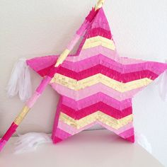 Custom Piñata stick by bloombybre on Etsy