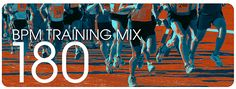 Running music mixes at http://runningmusicmix.com/.  Especially interested in checking out the 180 BPM mix to improve my stride rate.