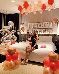 Hotel Birthday Parties, Birthday Shots, Birthday Party Photography, Hotel Party, Birthday Goals, 28th Birthday, Birthday Love, Birthday Woman, Birthday Balloons