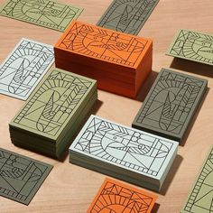 Print is not dead by Javier Garcia on Dribbble Badge Design, Box Design, Packaging Design Inspiration, Graphic Design Inspiration, Stationery Design, Branding Design, Logo Branding, Vintage Business Cards, Fashion Logo Design