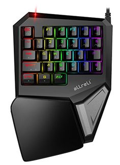 Ahorra un 20% #aLLreLi #Teclado #Mecánico #RGB para una mano #gaming (#programables #teclas, #LED #Backlit) #Negro ForPower al comprar 1 o más. Introduce el #código LP23KGDV antes de finalizar el pedido.