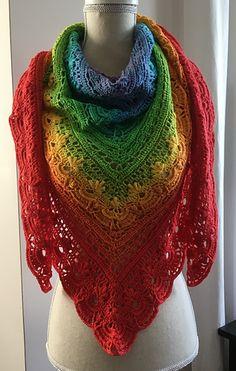 Ravelry: Georgia Shawl pattern by Kirsten Bishop Crochet Jacket Pattern, Crochet Purse Patterns, Shawl Patterns, Crochet Poncho, Crochet Scarves, Crochet Clothes, Irish Crochet, Ravelry Crochet, Crochet Blankets
