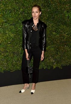 Actor Teresa Palmer attends the celebration of Chanel's Gabrielle Bag hosted by Caroline De Maigret and Pharrell Williams at Giorgio Baldi on April 6...