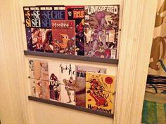MAKE   Easy Comic Book or Magazine Shelves