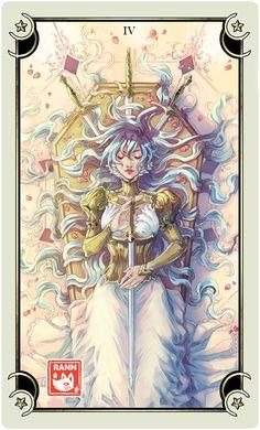 ::Tarot-Minor Arcana-4 of Swords:: by rann-poisoncage on @DeviantArt