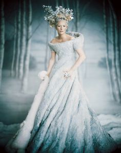 "There's a tinge of it in the Tilda Swinton interpretation of the White Witch in the ""Narnia"" movies."