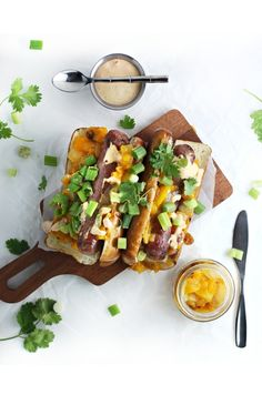 hot dogs with mango