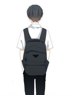 Sad Anime, Cute Anime Boy, Anime Art Girl, Manga Art, Kawaii Anime, Anime Guys, Manga Anime, Chibi Couple, Anime Love Couple