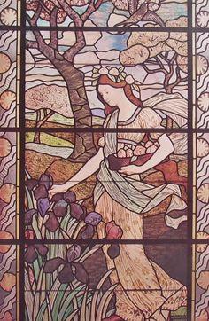 EUGENE GRASSET 'La Primavera' (vetrata; 1884) da http://www.frammentiarte.it/dall%27Impressionismo/Pittori%20simbolisti%20opere/42%20Eug%C3%A8ne%20Grasset%20-%20La%20Primavera.jpg