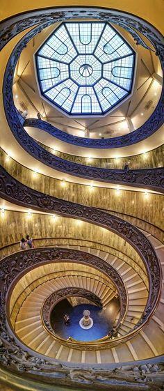 Spiral in Vatican Museums