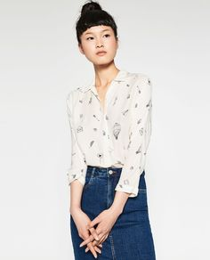 Image 3 of PRINTED SHIRT from Zara