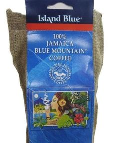 Jamaica Blue Mountain Coffee , Certified 100%  Grounded & Roasted Beans in a 1lb