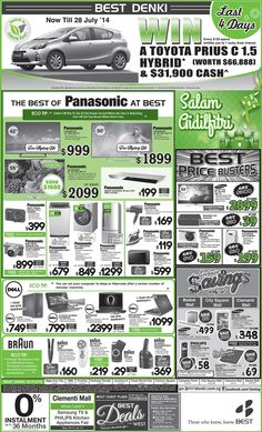 Straits Time Ad - 25 July 2014  Check out the special promotion from Panasonic, Dell, Braun & more attractive offers!  Click here to view or zoom : http://go.bestdenki.com.sg/best-adverts/press-advert-25-july-2014