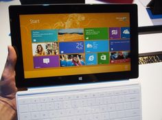 Microsoft Surface tablet hands on: Less than a PC, more than an iPad
