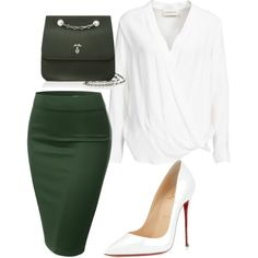 A fashion look from February 2016 featuring By Malene Birger blouses, J.TOMSON skirts and Christian Louboutin pumps. Browse and shop related looks.