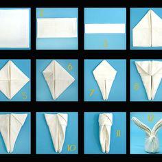 Napkin folding