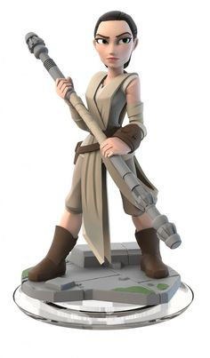 Disney Infinity 3.0 Star Wars - The Force Awaken Play Set Includes Rey, Finn and an all new Star Wars game