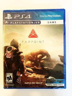FARPOINT PLAYSTATION VR GAME BRAND NEW!