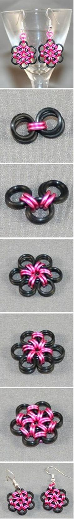 DIY Creative Metal Ring Earrings DIY Projects   UsefulDIY.com Follow Us on Facebook ==> http://www.facebook.com/UsefulDiy