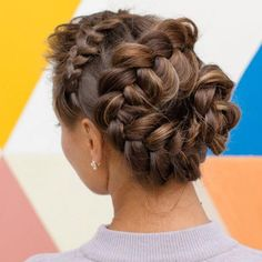 Snake Braid Updo For Long Hair ❤  #lovehairstyles #hair #hairstyles #haircuts