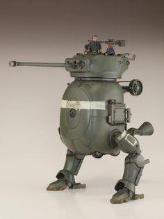 Q式二足歩行戦車