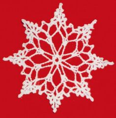 Best Free Crochet » Snowflake Christmas Ornament – Free Crochet Pattern