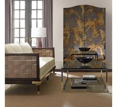 Inter-Woven : Caracole Upholstery : : UPH-SOFWOO-44A | Caracole Furniture