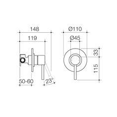 Titan Stainless Steel Bath/Shower Mixer   Caroma Steel Bath, Bath Shower Mixer, Mixer Taps, Stainless Steel