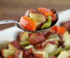 Polish Sausage Recipes with Potatoes | Smoked Polish Sausage and Potato Bake Recipe | To Try
