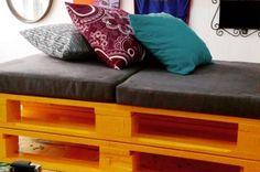 Transforma tarimas de madera en atractivos muebles