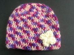 Crochet butterfly hat girls butterfly hat by BloomingRoseCrochet
