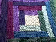 Sock Yarn Blanket Part 1 of 3 - Tutorial - Knitting Blooms - YouTube