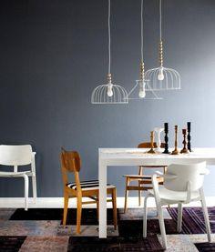 Esszimmer Beleuchtung-Ideen licht Designstücke-Lüster Pendelleuchte