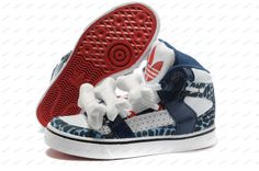 premium selection 8c4fb 38bbd Adidas Originals Jeremy Scott Bones White Blue Leopard Women s Running Shoes  shoes online