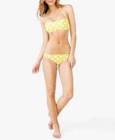 Polka Dot Bandeau Bikini Top   FOREVER 21 - 2050430800