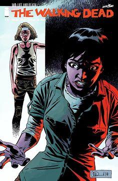Capa da Edição #140 de The Walking Dead