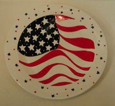 fourth of july plates