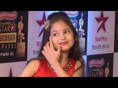 Harshaali Malhotra at Star Screen Awards 2016.