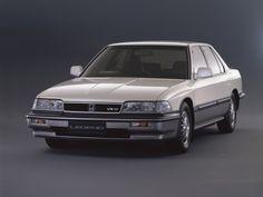 Honda Cars, Classic Japanese Cars, Classic Cars, Retro Cars, Vintage Cars, Honda Legend, Car Magazine, New Engine, Prams