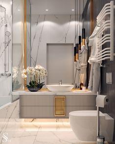 Countertops for bathrooms and toilets - Home Fashion Trend Dream Bathrooms, Beautiful Bathrooms, Design Industrial, Boffi, Bathroom Design Luxury, Luxury Interior, Bathroom Inspiration, Interiores Design, Home Fashion